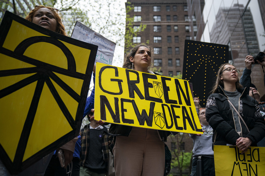 Sunday Night Owls. Naomi Klein: Why Texas Republicans fear the Green New Deal
