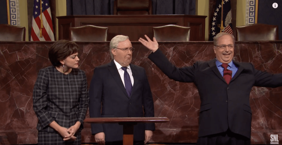 KY & ME-Sen: SNL Sends Moscow Mitch, Susan Collins (R) & Alan Dershowitz Straight To Hell