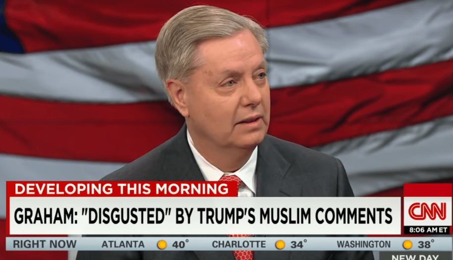 'He's a race-baiting, xenophobic, religious bigot': Lindsey Graham speaks out against Trump—in 2015