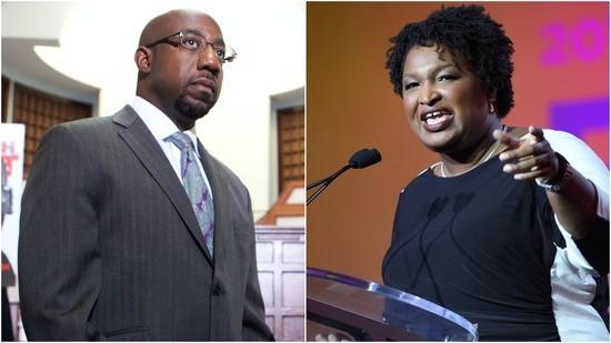 Former Georgia gubernatorial candidate Stacey Abrams endorsesRev. Raphael Warnock.