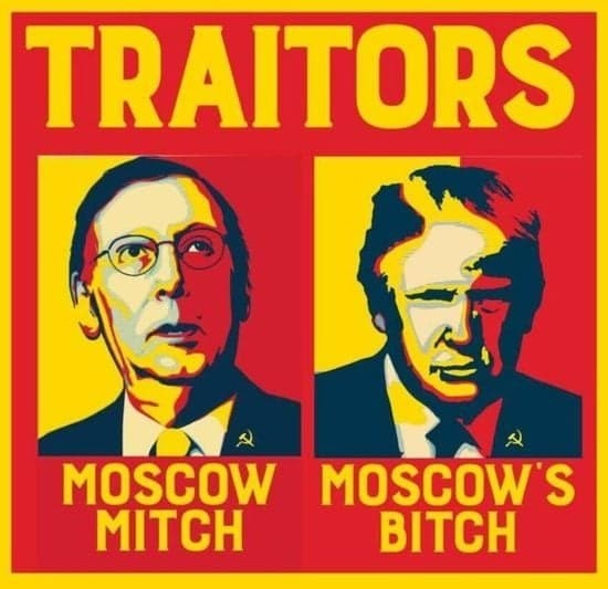 Moscow Mitch & The Republican Party - cover