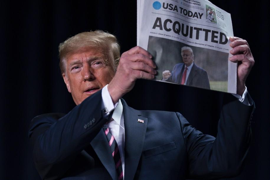 Donald Trump feels invincible. He isn't