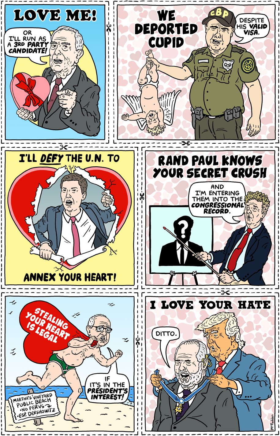 Cartoon: 2020 Valentines