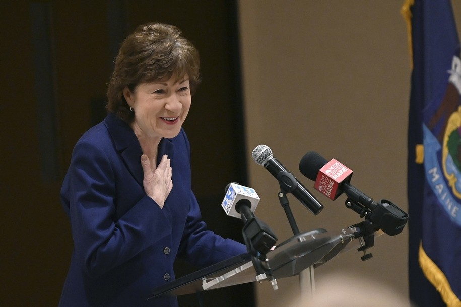 Susan Collins, now a national laughingstock, has concerns