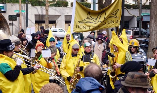 The Unpresidented Brass Band in Portland 2/8/20