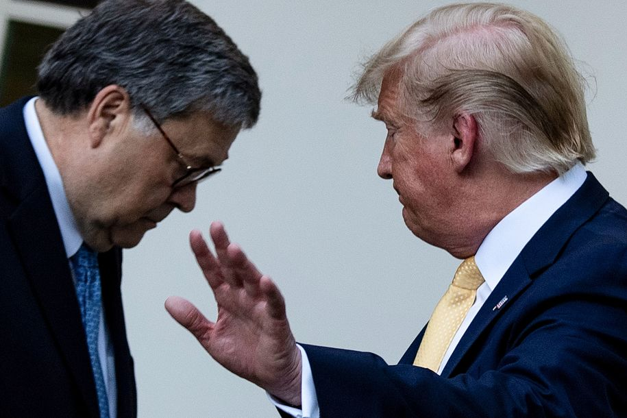 Former Justice Department officials' calls for Barr to resign grow. He is un-American, says one