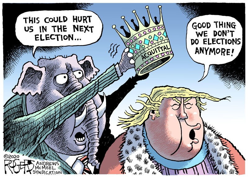 POLITICAL CARTOONS: LAUGHTER IS THE BEST MEDICINE !