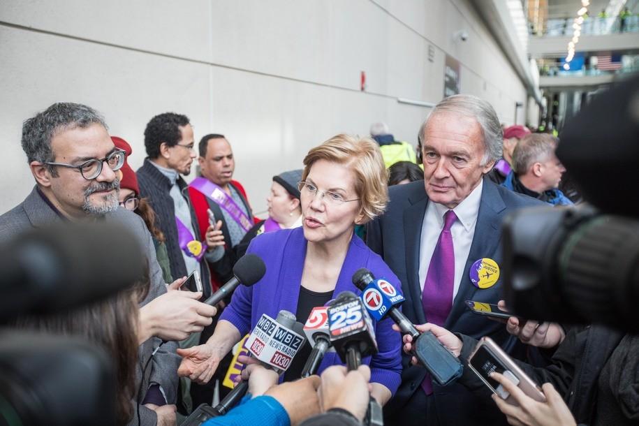 Sens. Warren, Markey demand Trump administration halt 'dangerous' border patrol deployment plan