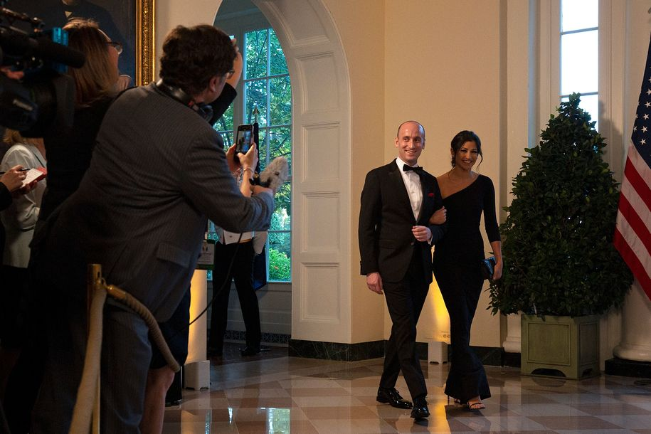 Stephen Miller`s uncle had the perfect wedding gift...