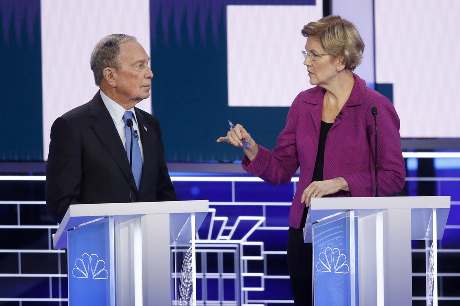 Warren opens Democratic debate with show-stopping takedown of...