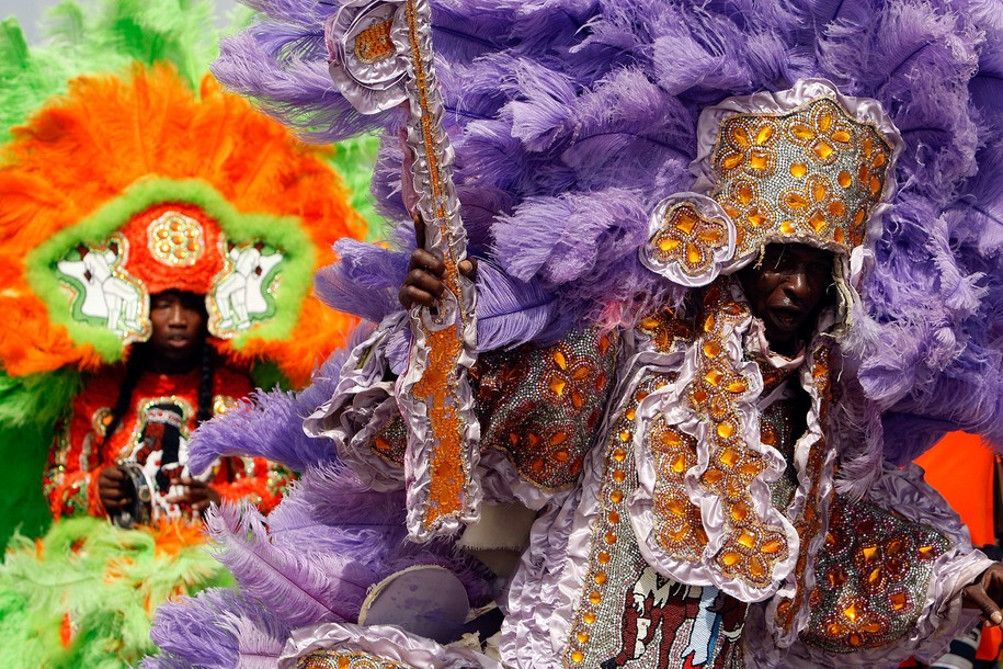 Black History Month: Celebrating 'Iko Iko,' Mardi Gras Indians, and the second line