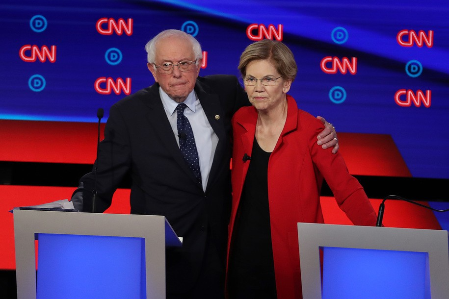 Don't Love Biden/Harris? How about Committee Chairs Sanders and Warren?