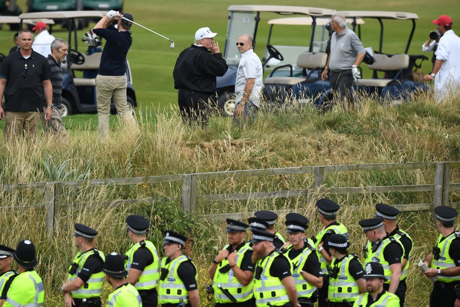 Did Trump launder money through his Scottish golf clubs? Top official demands investigation