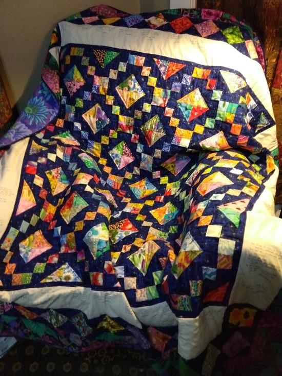 J Graham's quilt