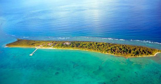 Cocos Island, just off Guam