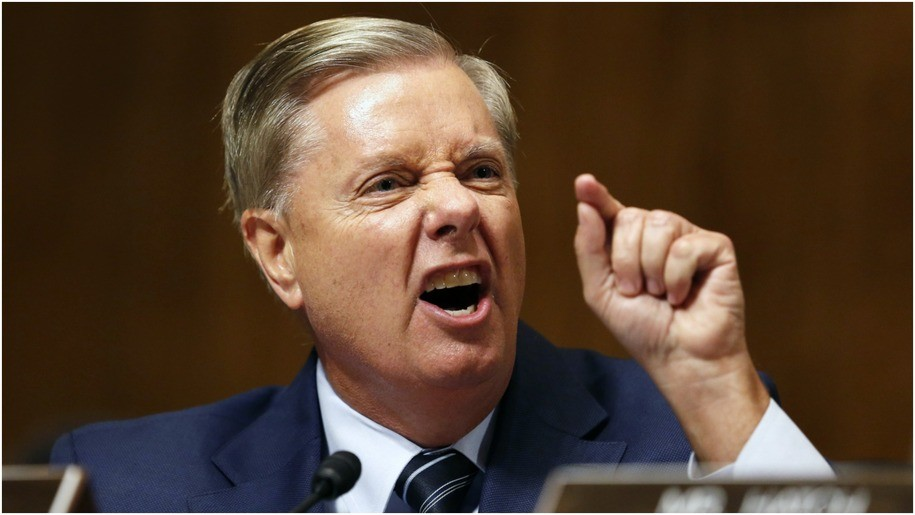 Lindsey Graham issues ludicrous alert about Brazilian 'terrorists' with 'Gucci bags' flooding border