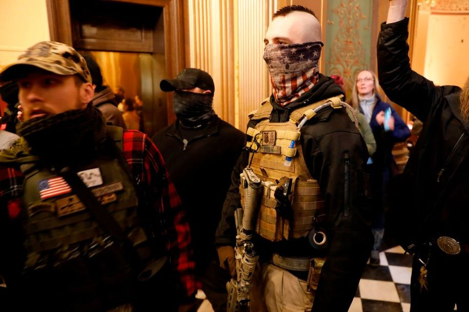 Michigan's anti-Whitmer protests were also organizing grounds for would-be militia kidnappers