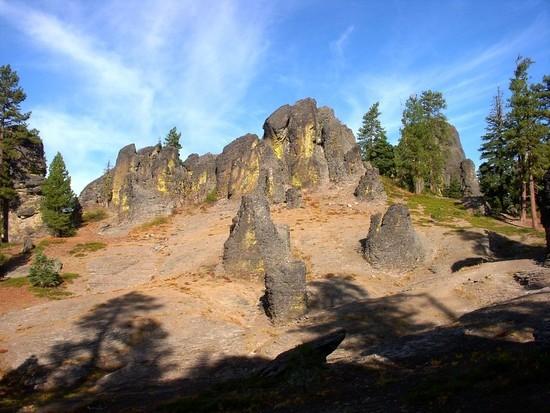 The Palisades, near Gearhart Mountain