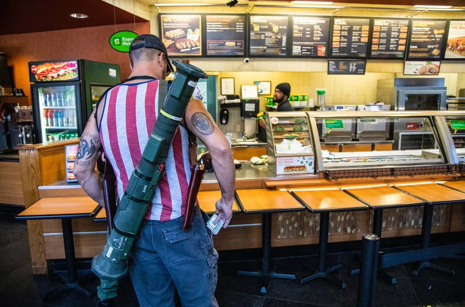 #MealTeamSix goes to a Subway sandwich shop in Raleigh NC, because firearms fetishism
