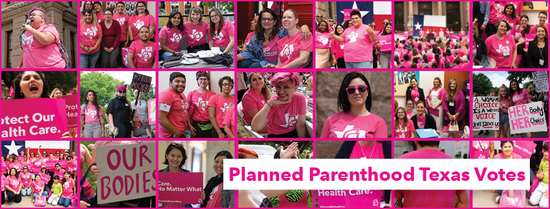 Planned Parenthood Texas Votes volunteers