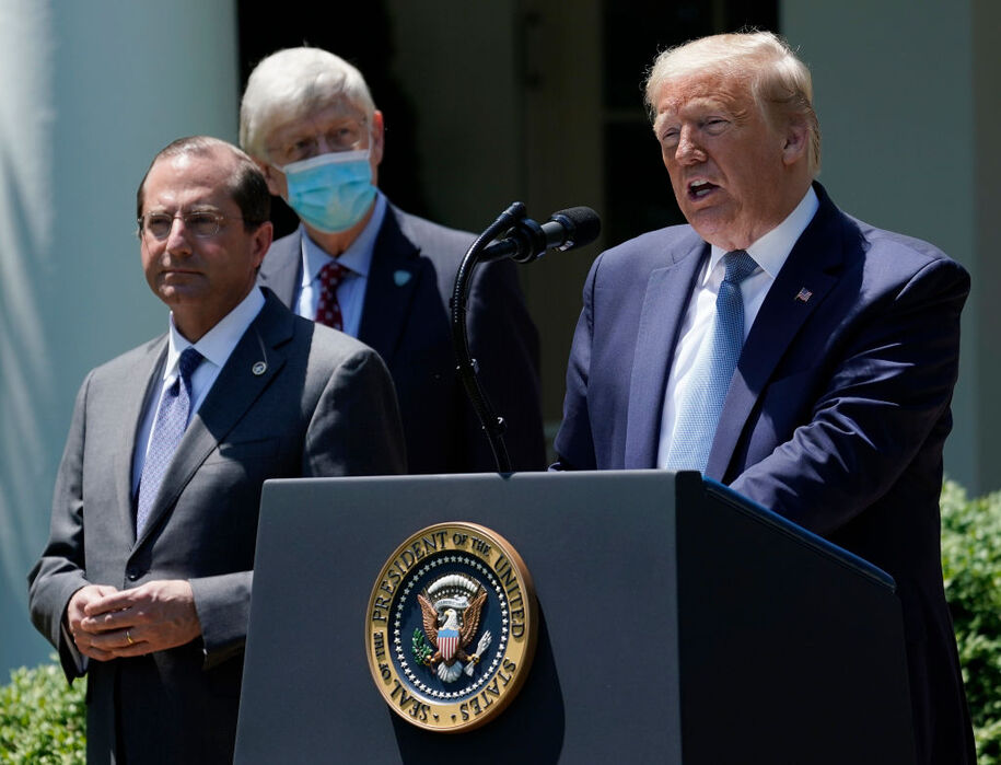 Trump`s bored with COVID-19 and the death toll,...