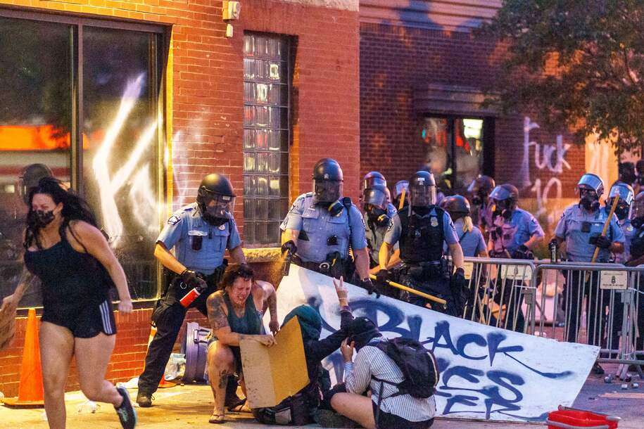 Protests could spread COVID-19—but police actions are dramatically increasing that risk
