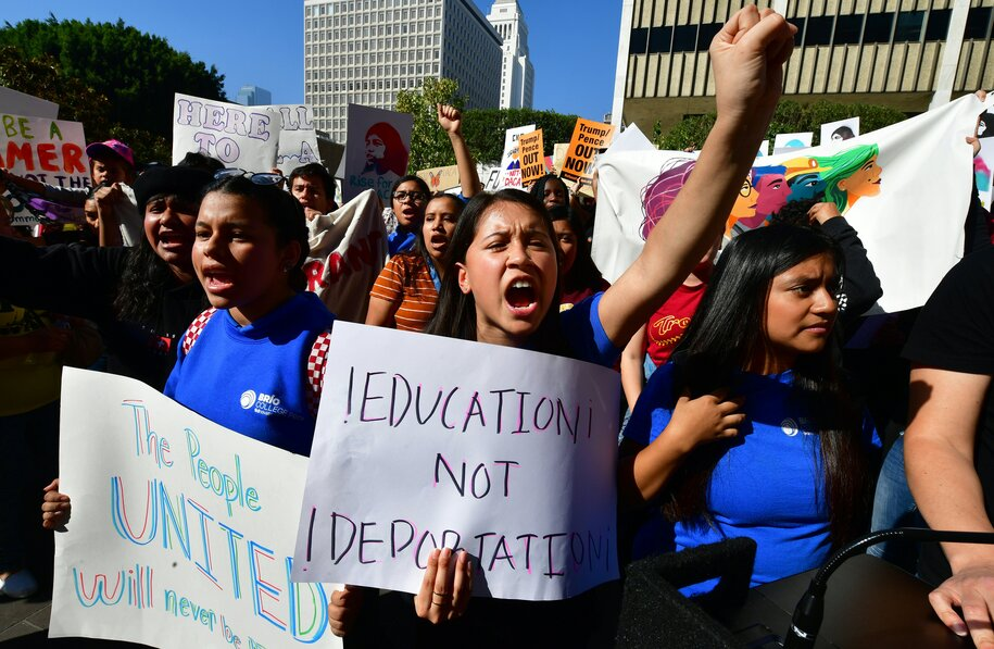 Fear of deportation lingers for many immigrants who want to protest police violence
