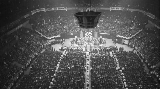 Nazis at Madison Square Garden 1939