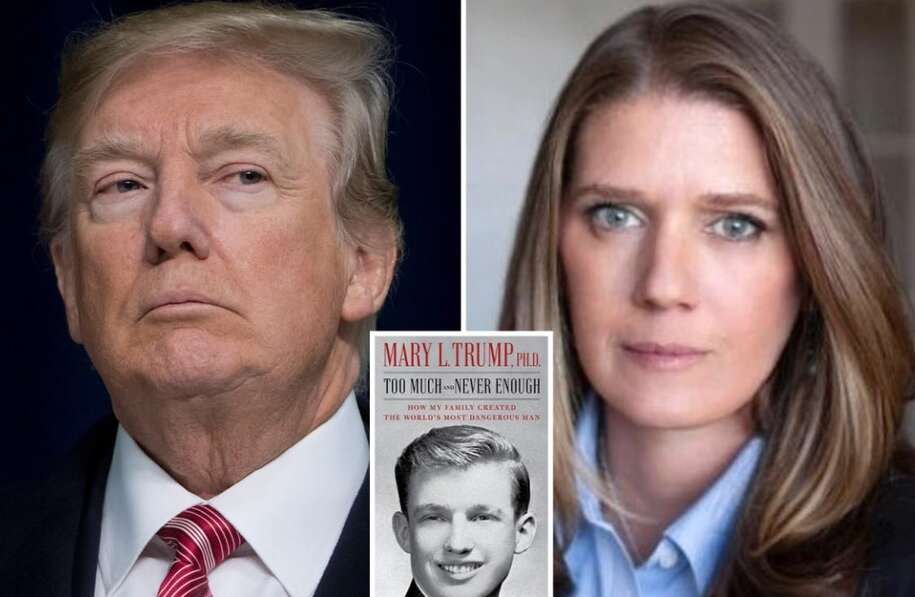"""Mary Trump - """"Too Much and Never Enough: How My Family Created the ..."""