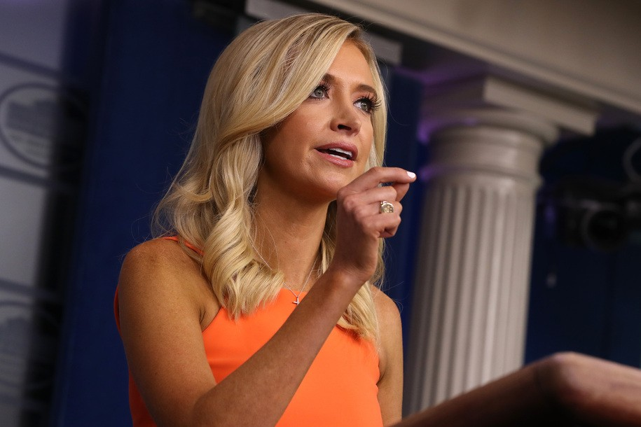 Kayleigh McEnany's Lame Attempt to Whitewash Trump's Blame for 200,000 Deaths