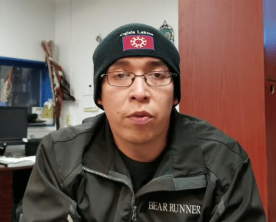 Oglala Lakota President Julian Bear Runner