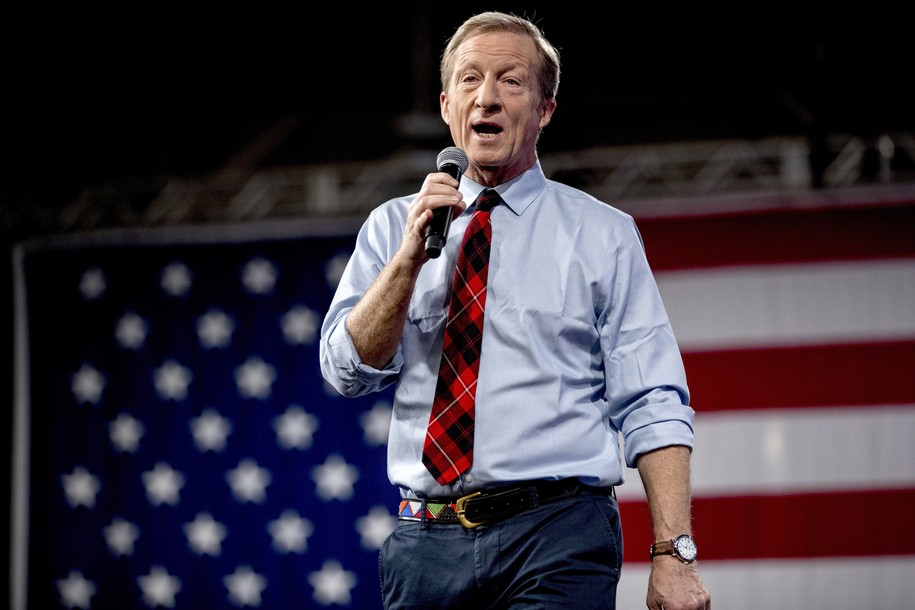 ME-Sen: Tom Steyer Helps Fellow Climate Hawk Sara Gideon (D) Take Down Susan Collins (R)