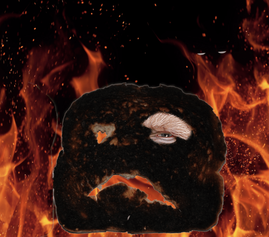 ETYMOLOGY: Is Trump merely toast, or is he flaming hair on fire toast or already ashes? POLL