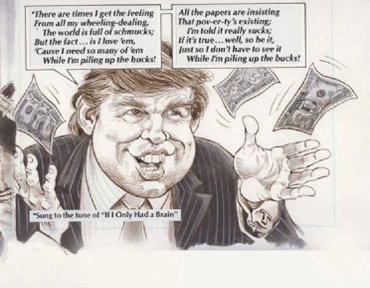 If only we'd paid more attention to MAD Magazine about Trump in 1991...