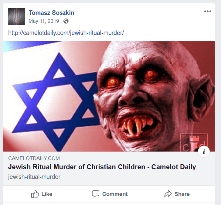 Facebook said this post is just fine. Twice.