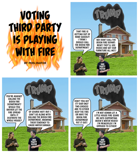 Voting Third Party Is Playing With Fire