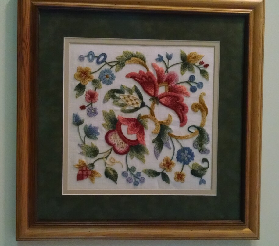 DK WAYWO: Some best practices for mounting Needlework