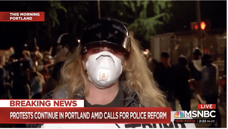 Portland woman said she's had it with Trump—'I will not support a tyranist any longer'