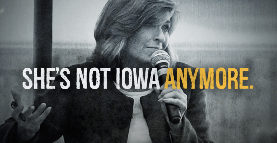 IA-Sen: Democrats Are Aiming To Take Away Joni Ernst's (R) Rural Support