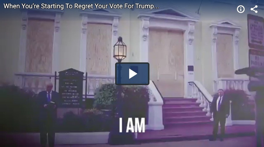 """The New Lincoln Project Ad """"Regret"""" is Great. The Comedy Bit that Inspired it is.........A MUST SEE."""