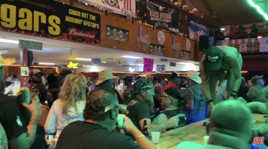 Sturgis 2020, not a mask in sight.