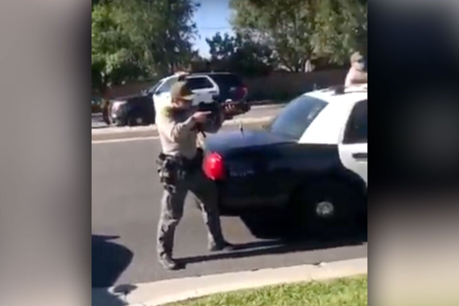 Police respond to 911 of Black teens with skateboard by bringing heavy artillery