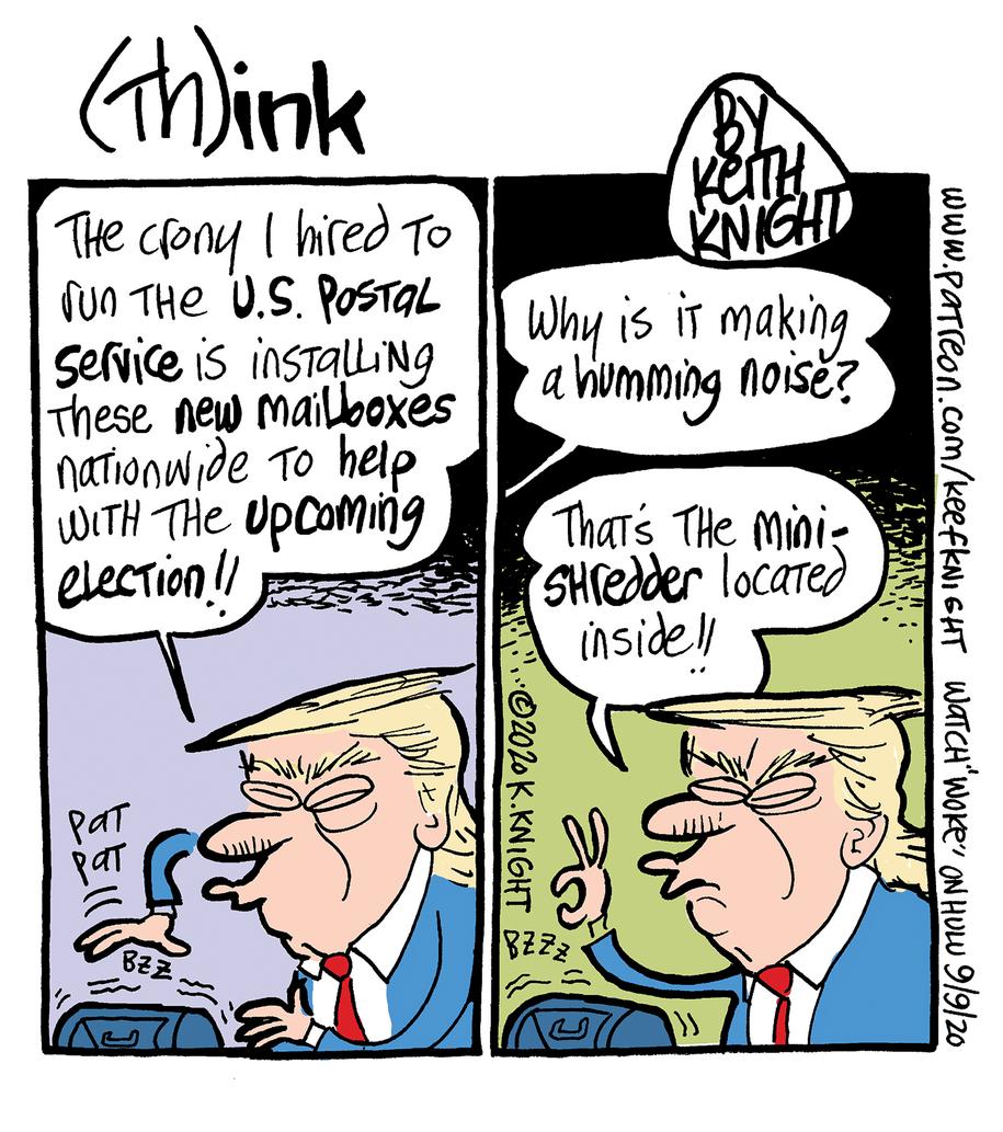 Cartoon: U.S. Postal Service