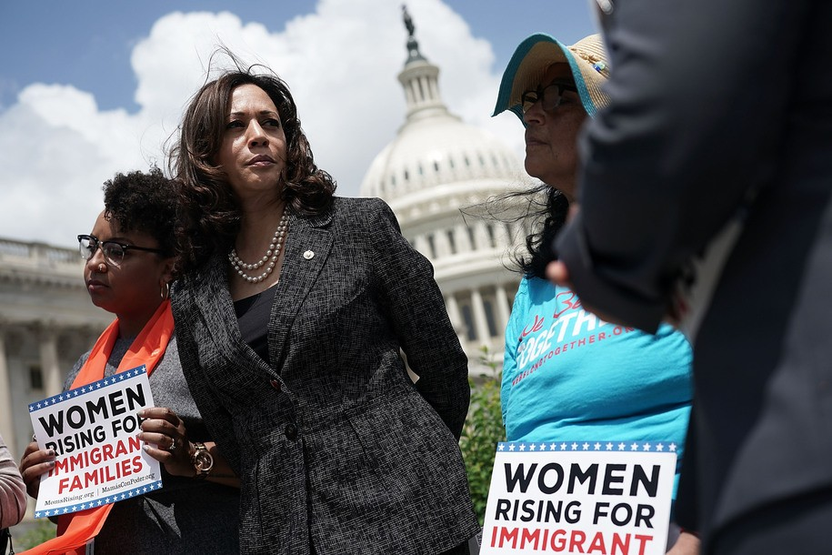 Kamala Harris has been a staunch defender of immigrant families in the Senate