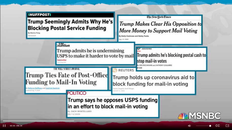 Rachel Maddow's Chilling Report on Trump Speeding the USA into Authoritarianism is a Must Watch