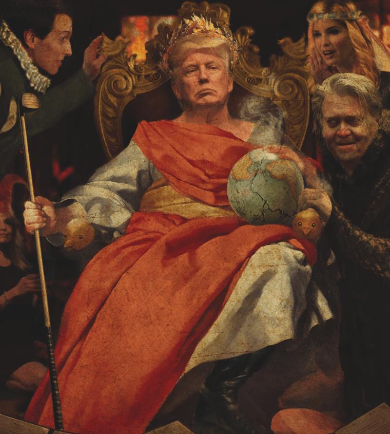 Donald Trump: The Antichrist  - cover
