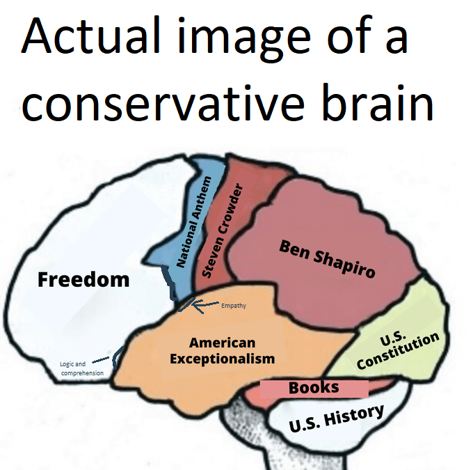 like conservative humor, is there conservative theory other than the usual fascism
