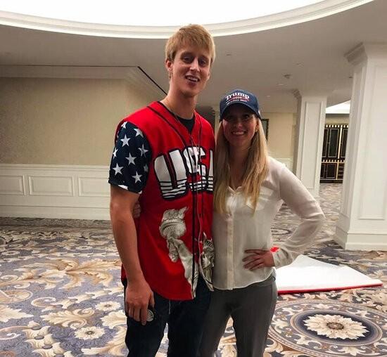 Dylan Wheeler with Lauren Witke