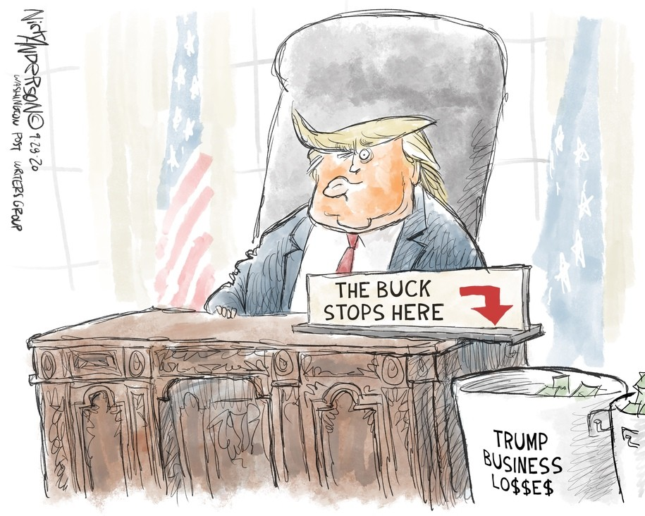 Cartoon: The business mogul