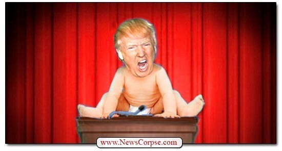 CRYBABY TRUMP Can't Stop Whining About Imaginary Bias By Debate Moderator